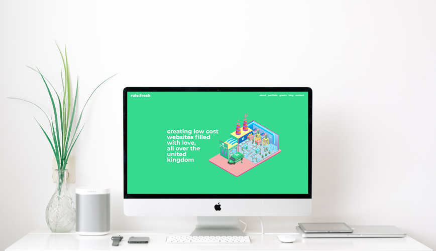rulefresh charity web design