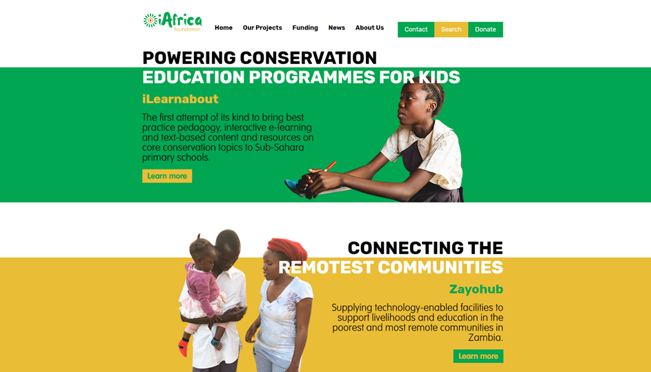 iAfrica Foundation Home Lower
