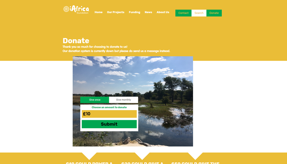 iAfrica Foundation Donate
