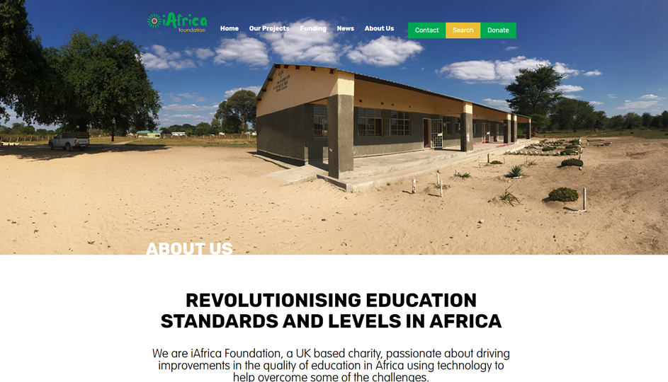iAfrica Foundation About